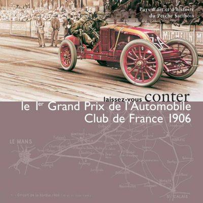 The Automobile Club de France's 1st Grand Prix in 1906