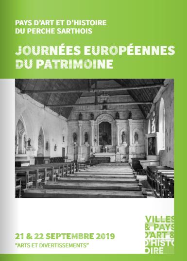 Journées Européennes du Patrimoine Programme